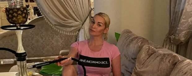 Балерина Волочкова показала поклонникам свое новое нижнее белье