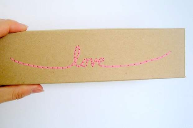 Упаковка подарков для влюблённых