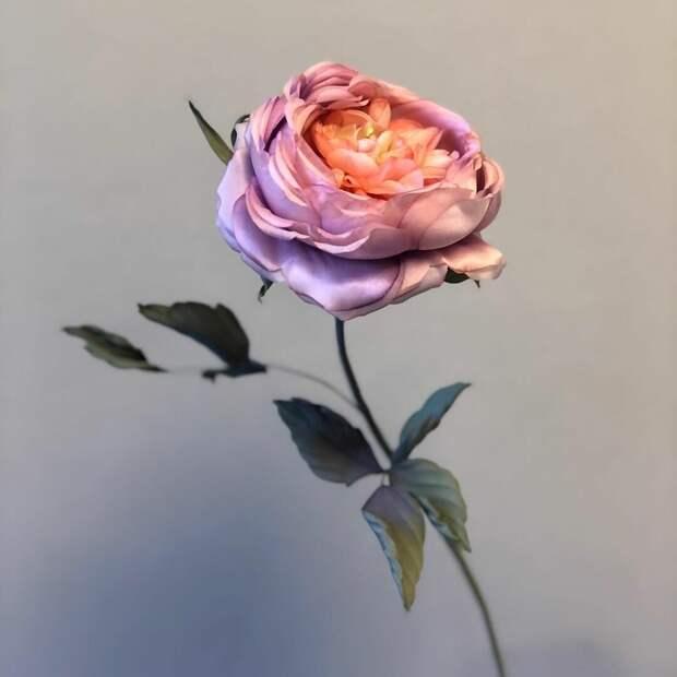 Шелковые цветы Юлии Володарской: не сразу поняла, что они не настоящие