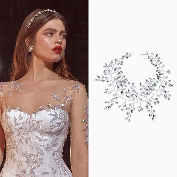 Свадебные украшения, которые войдут в моду в 2020 году