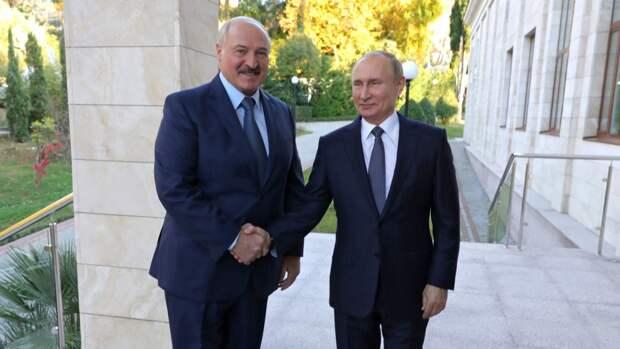 Встреча президентов России и Белоруссии может пройти в конце мая