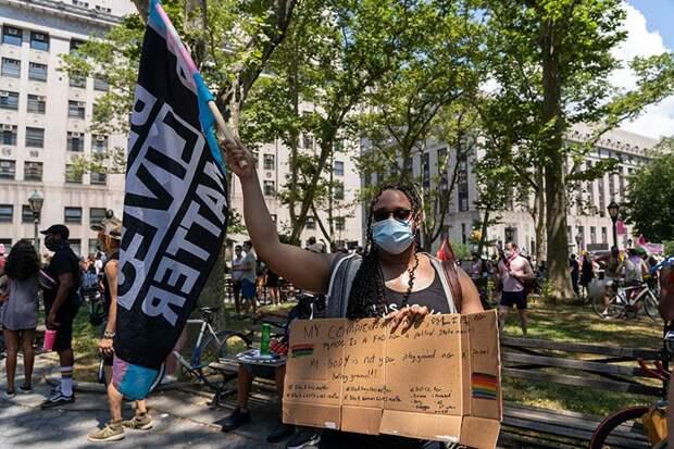 На карте протестов в США появилась еще одна горячая точка