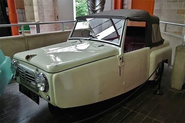 Экскурс в прошлое: трёхколёсные автомобили Reliant Regal