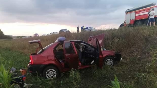 Девушка погибла в лобовом ДТП в Мордовии, еще пятеро ранены