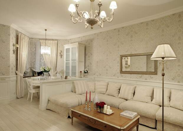Какой должна быть гостиная в классическом стиле (74 фото)