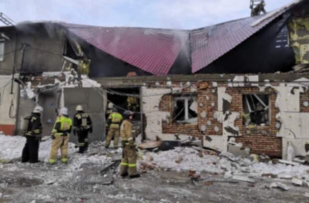 Шесть человек пострадали в Пензе после взрыва газа и пожара в пекарне