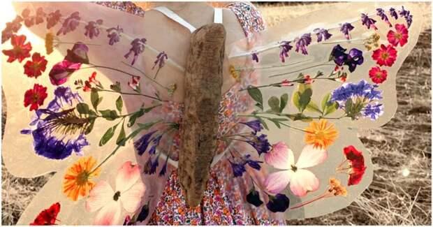 Такие нежные и воздушные крылья бабочки своими руками