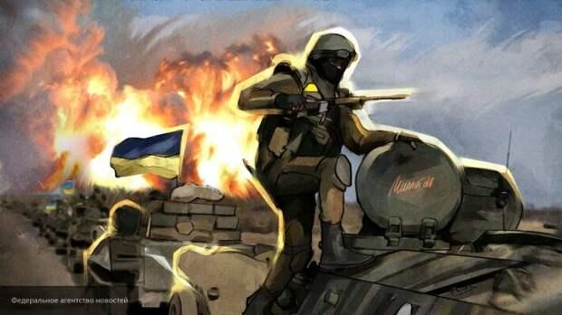 Корнилов: Украина продолжает войну в Донбассе из-за кредитов Запада