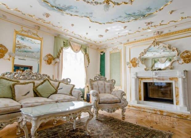 Волочкова решила сдавать квартиру в центре Петербурга за 500 тысяч в месяц