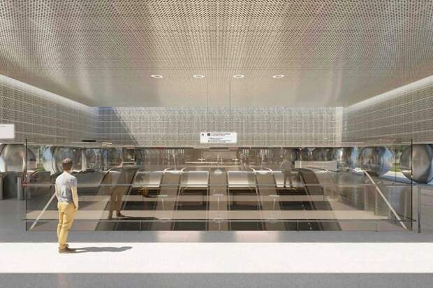 Пассажиры станции БКЛ в Марьиной роще будут спускаться на 64 метра под землю