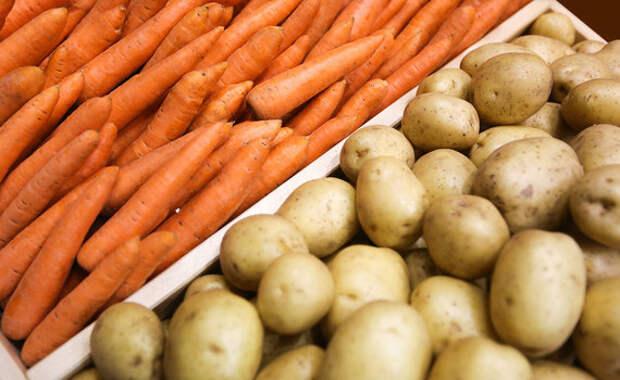 В Крыму за полгода более чем на 30% подорожали картофель и морковь