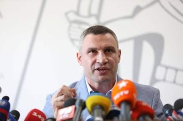 "Кличко объявил о вводе в Киеве ""сурового"" карантина"