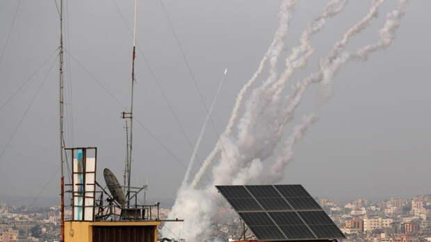 Армия Израиля сообщила о 150 выпущенных ракетах из сектора Газа