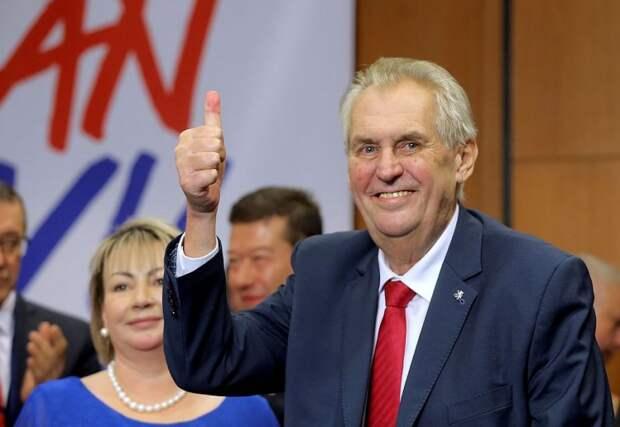 Переизбрание президента Чехии – тоже дело рук Москвы?