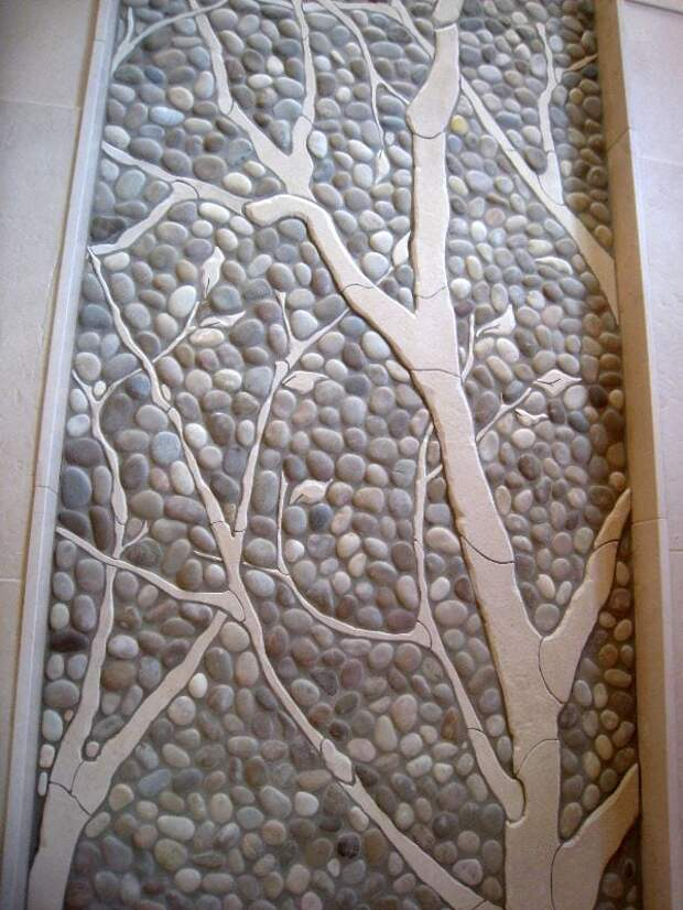 Красочная мозаика из битой плитки: идеи для дома и дачи
