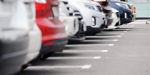 В майские праздники парковки в Строгине будут бесплатными