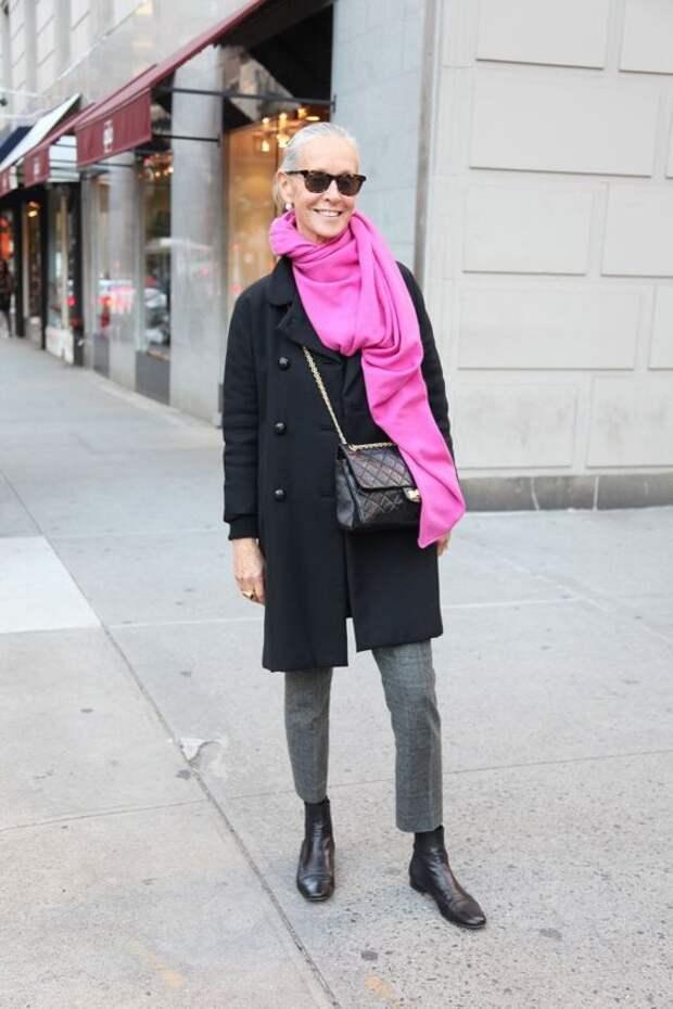 Возраст просто число: неувядающая модница Линда Райт