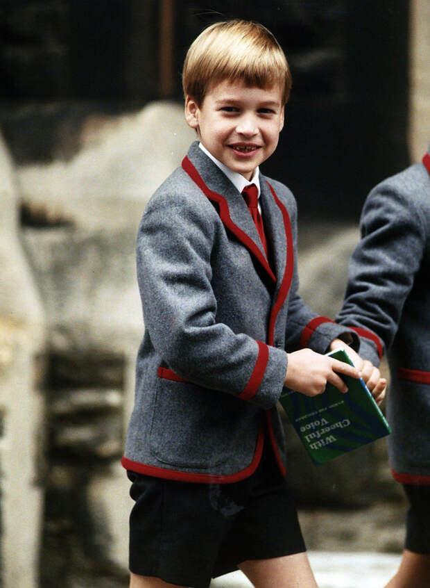 Принц Уильям похож на принца Джорджа