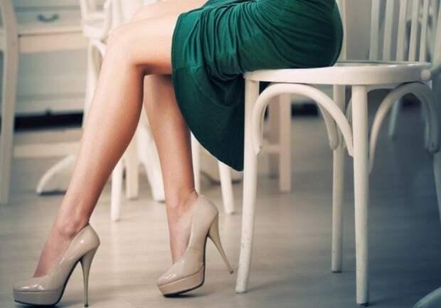 Как визуально удлинить ноги: С каблуком, Без каблука — 10 Способов