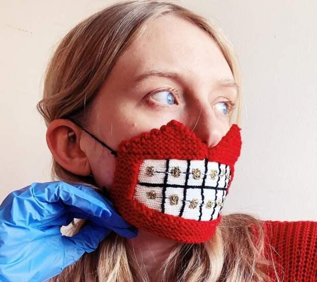 Вязаные маски Yrurari