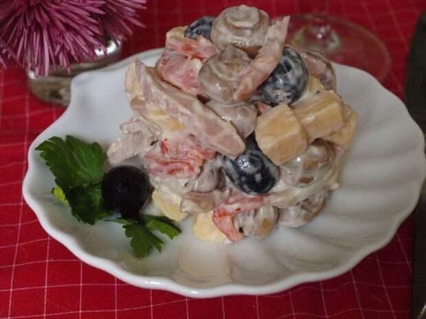 """Превосходный салат """"Праздничный"""""""
