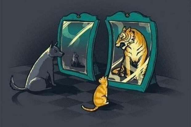 Почему человек - это то, что он о себе думает?, изображение №1