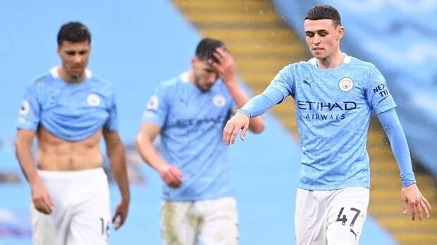 «Манчестер Сити» на последних минутах проиграл «Челси» и не смог оформить досрочное чемпионство АПЛ