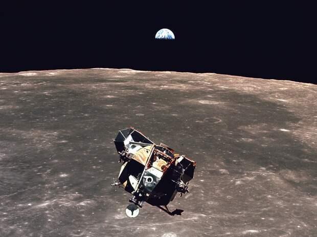 Наши исследования Луны — смесь стремления к технологическим завоеваниям …   земля, космос, красота