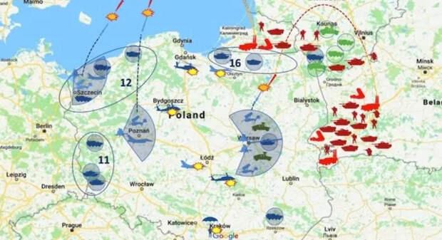 """""""Надеемся, что война с Россией не разразится"""". НАТО делает выводы из поражения Польши в виртуальной войне с Россией."""
