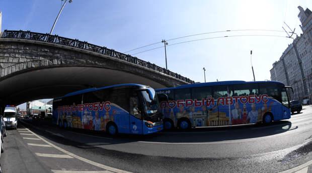 Под Санкт-Петербургом перевернулся полный людей экскурсионный автобус