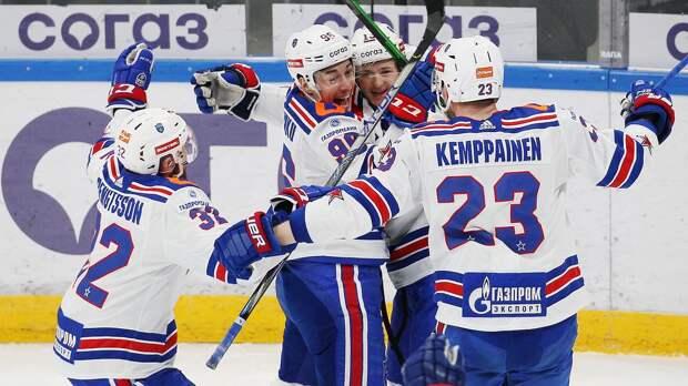 СКА обыграл московское «Динамо» в 4-м матче и повел в серии 3-1
