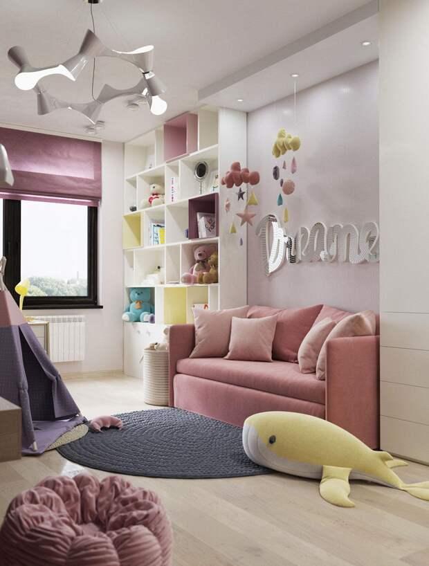 Детские диваны для девочек: как сделать правильней выбор (29 фото)