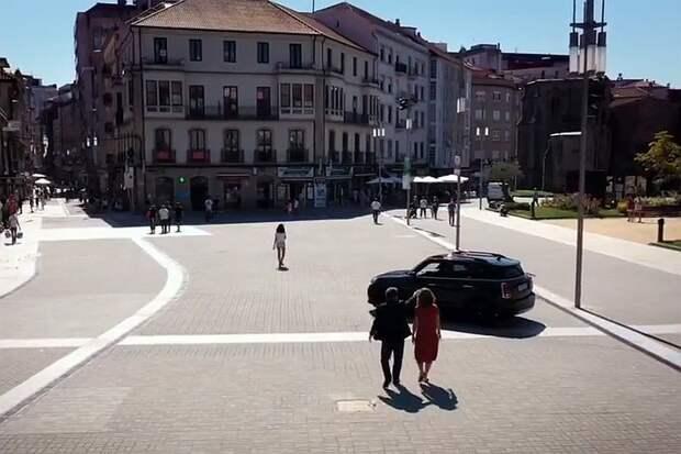 В испанском городе ликвидировали почти все автомобильное движение