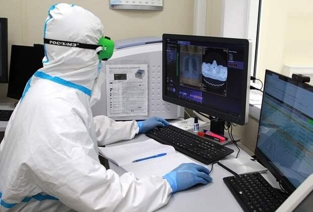 В России выявили 8 115 случаев коронавируса за 11 мая 2021 года