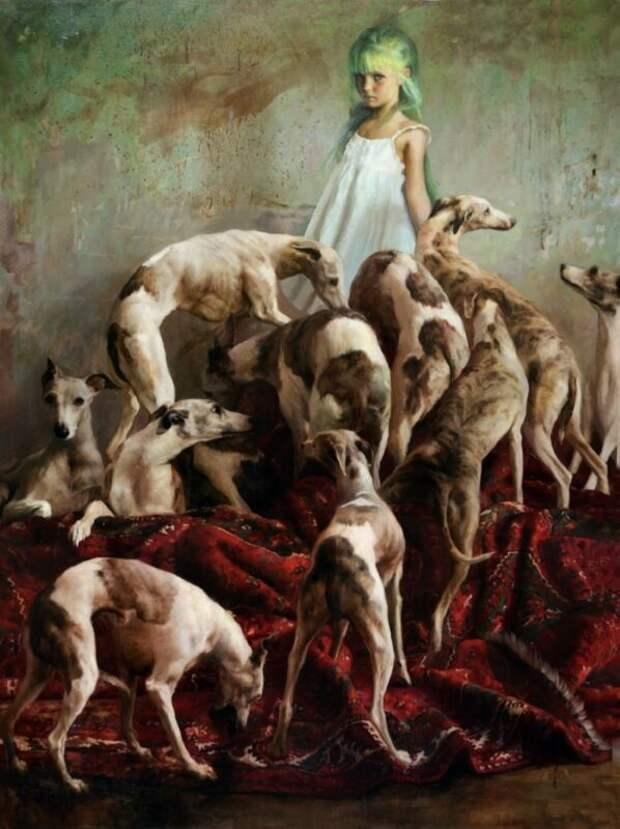 Детские грезы икошмары вкартинах художника Гильермо Лорки