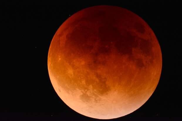 «Кровавое» лунное затмение 26мая: где можно увидеть