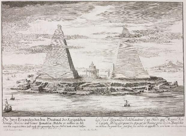 Тайна пирамид озера Морис в Каире