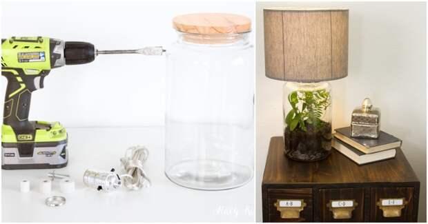 Уникальный светильник, который не купишь ни в одном магазине
