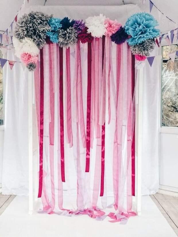 Крутые идеи для свадебной арки