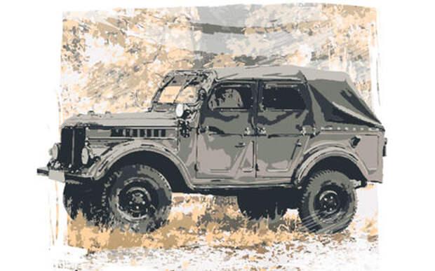 ГАЗ-69: вы помните, что у «козлика» не было окон?
