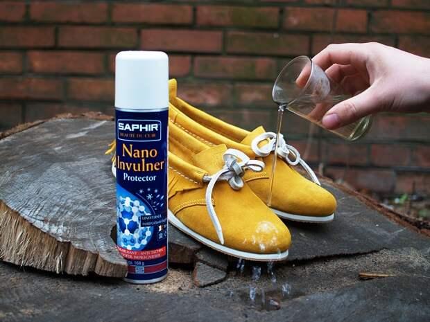 Правильная обработка обуви защитными средствами