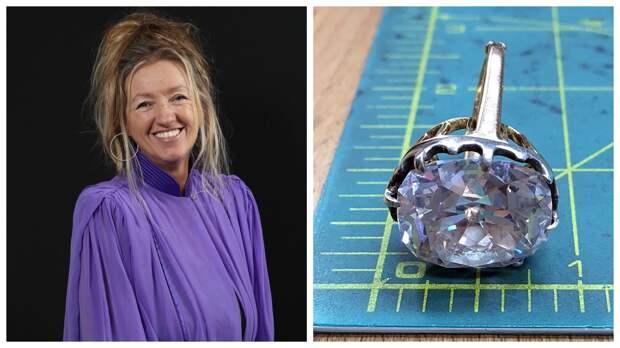Счастливое неведение: камень вкольце сбарахолки, оказался бриллиантом намиллион