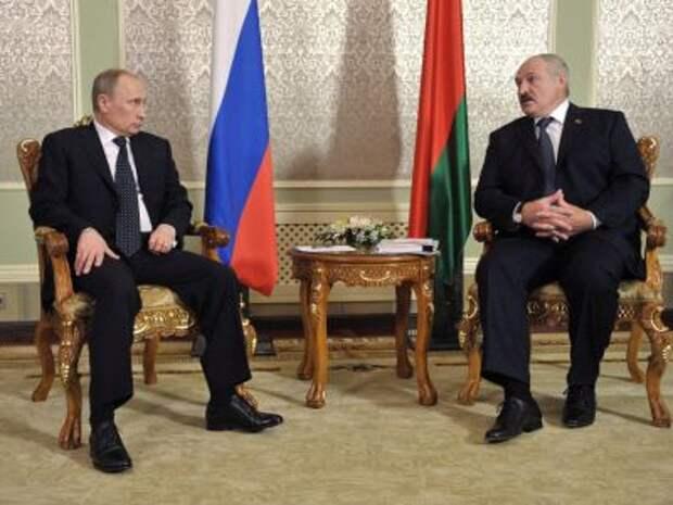Путин и Лукашенко на переговорах выработали шаги в сферах таможни, энергетики
