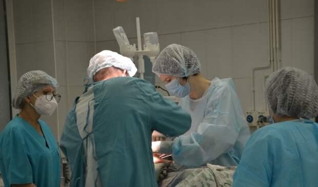 Высокие технологии используют при торакальных операциях в Тюменской области