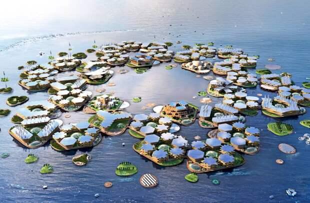 Мировое сообщество заинтересовалось идеей «плавающих городов»