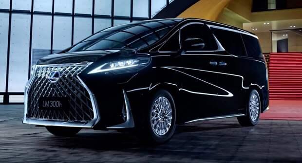 Роскошный минивэн Lexus LM — произведение современного искусства
