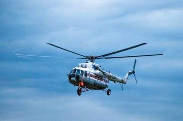 Ми-2, пропавший на Камчатке, опознали по обгоревшим обломкам