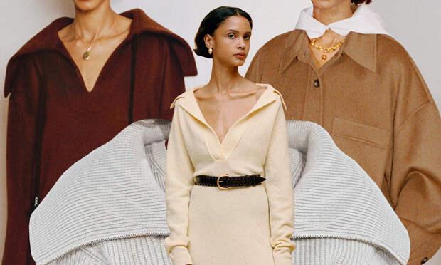 Пальто-рубашка, трикотажное платье и другие мегахиты сезона осень-зима 2020