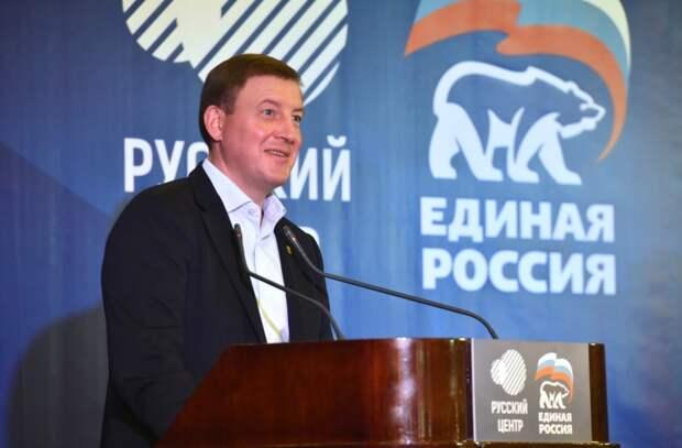 Турчак объявил о получении «Единой Россией» конституционного большинства в ГД