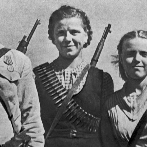 Летчица Мария Смирнова, 1944 год